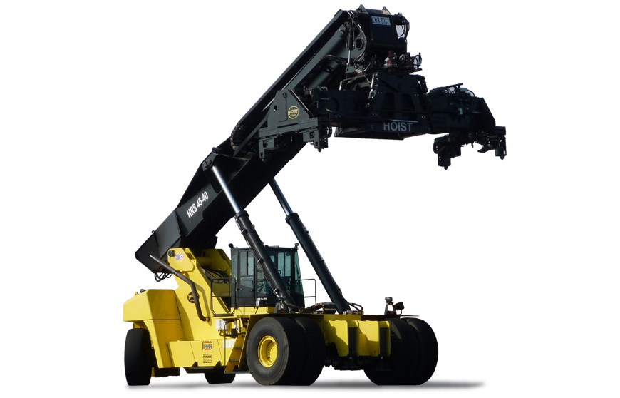Hoist Reach Stacker Series X on Internal Combustion Engine Design