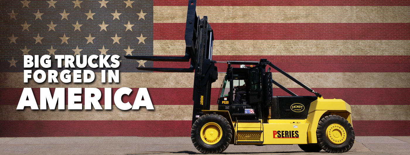 Hoist Big Trucks Forged in America