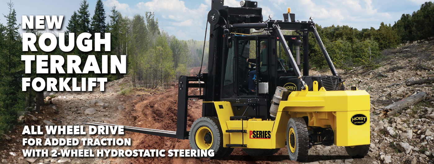 New Rough Terrain Forklift